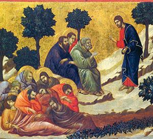 La preghiera di Gesù nell'orto del Getsemani