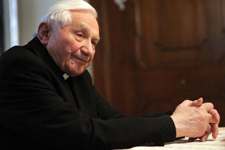 Monsigno Georg Ratzinger [© Stefan Matzke/Sampics/Corbis]