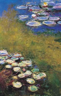 Un altro quadro di Monet che ha per oggetto le ninfee
