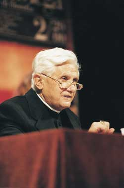 Il cardinale Joseph Ratzinger
