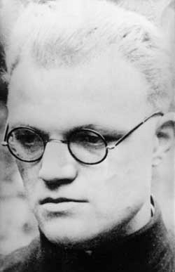 Father Alfred Delp, one of the Jesuit fathers belonging to the Kreisau cultural circle and killed after the failed attempt on the Führer