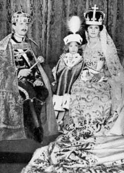 the Emperor Karl I of Austria the day of his crowning as Apostolic King of Hungary