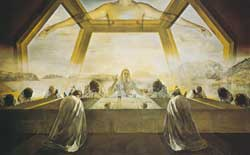 The Last Supper, Salvador Dalí,1955, National Gallery of Art, Washington