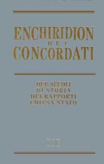 The cover of the Enchiridion of the Concordats