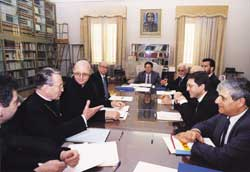 The meeting of the plenary bi-lateral Commission for the approval of the Agreement on 29 December 1993