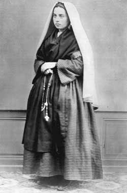 Bernadette in una foto del 1858