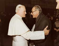 John Paul II and Georges Cottier