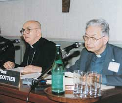 Georges Cottier and Cardinal Jean-Jérome Hamer