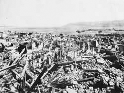Messina after the earthquake of 1908