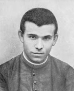 Luigi Orione, as seminarian, in a photo from 1892