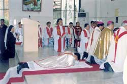 The episcopal ordination of John Baptist Tan Yanquan, coadjutor bishop of the diocese of Guanxi, 21 January 2003