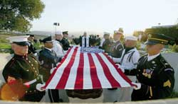 The funeral of Ronald Reagan, who died on 5 June 2004