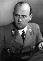 Hans Frank, governor general of Poland in the period of the Third Reich, was one of the group that gravitated around to the Thule Gesellschaft esoteric association, the mould of the group of intellectuals who founded Nazism