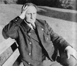 """Karl Haushofer, fundador do Instituto de Geopolítica de Berlim e principal idealizador da teoria nazista do Lebensraum, o """"espaço vital"""""""