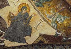 On this page, mosaics in the church of Christ Savior 
