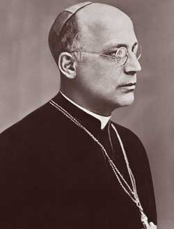 The bishop of Berlin Konrad von Preysing