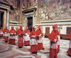 Giovanni Paolo I con il cardinale Joseph Ratzinger  il 3 settembre 1978