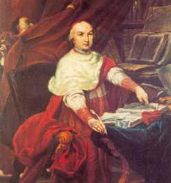 Ritratto del cardinale Lambertini, Giuseppe Maria Crespi, Collezioni Comunali d'Arte, Bologna