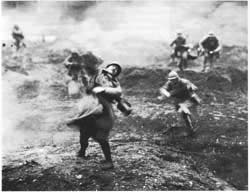 French soldiers in the battle of the Marne during the First World War