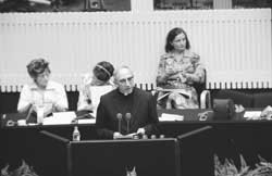 Archbishop Agostino Casaroli, special delegate of Paul VI at the Helsinki Conference