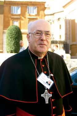 Il cardinale Godfried Danneels