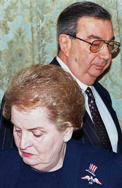 Primakov with the American Secretary 