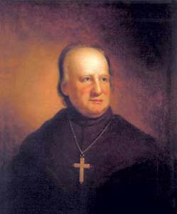 The Jesuit John Carroll, the first Catholic bishop of the United States of America