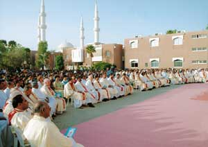 The Holy Mass celebrated at the school of Saint Joseph in Abu Dhabi 