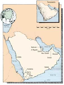 The map of the Apostolic Vicariate of Arabia, published in the precious booklet entitled 