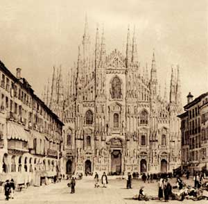 An ancient view of the Cathedral