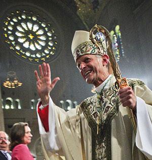 Il cardinale Wuerl nella Basilica del Santuario nazionale dell'Immacolata Concezione a Washington [© Getty Images]