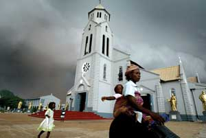 The church of the Holy Trinity in Onitsha, Nigeria