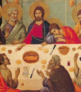 Some episodes of the life of Jesus from the Maestà by Duccio di Buoninsegna, Museo dell'Opera, 