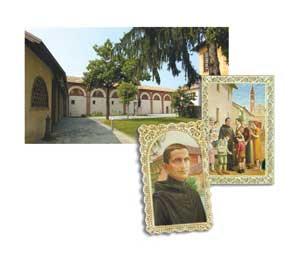 Il centro di accoglienza nei pressi </p><br /> <p>della parrocchia di Trivolzio ed alcune immagini di san Riccardo