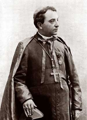 Monsignor Gasparri, titular archbishop of Caesarea of Palestine and apostolic delegate to the Republics of Peru, Bolivia and Ecuador