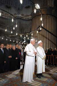 Benedict XVI with the Grand Mufti 