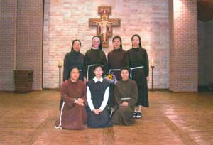 The Clarisse of the Yangyang Convent in South Korea