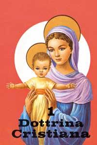 """La copertina del libretto """"Dottrina Cristiana 1"""""""