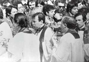 Don Giussani in Saint Peter's Square, 