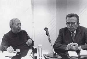Giulio Andreotti interviewing Don Giussani, Milan, 15 October 1994