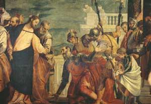 L'incontro di Gesù con il centurione (XVI secolo), Veronese, Museo del Prado, Madrid