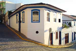 The house in which Friar Antonio de Sant' Anna Galvão was born in Guaratinguetá