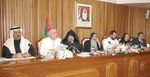 The Apostolic Vicar Paul Hinder participates in an inter-religious conference on the topic of tolerance, Abu Dhabi, 23 January 2007