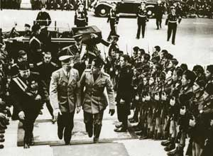 Hitler on his visit to Rome 6 May 1938