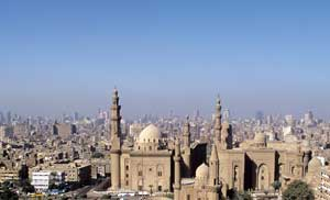 The city of Cairo