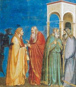 Il tradimento di Giuda, Giotto, Cappella degli Scrovegni, Padova