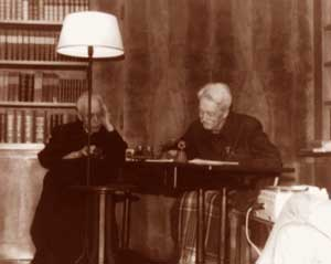 Charles Journet and Jacques Maritain
