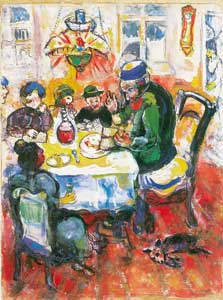 <I>The party</I>, 1925, Marc Chagall, Private Collection