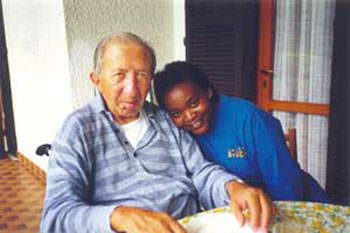 Don Luigi Giussani and Rose Busingye