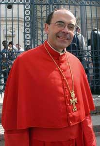 O cardeal Philippe Barbarin<BR> [© Romano Siciliani]